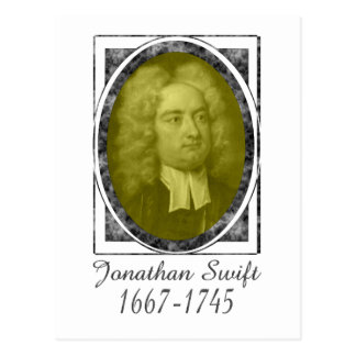 Jonathan Swift Postcard
