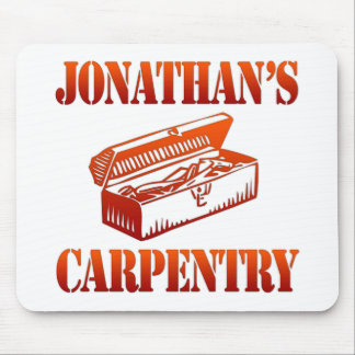 Jonathan's Carpentry Mouse Pad
