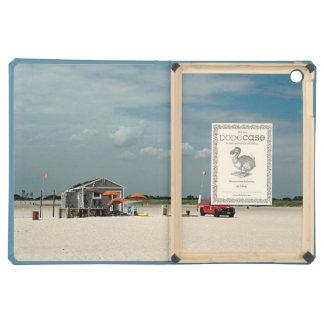 Jones Beach Umbrella Stand iPad Air Cover