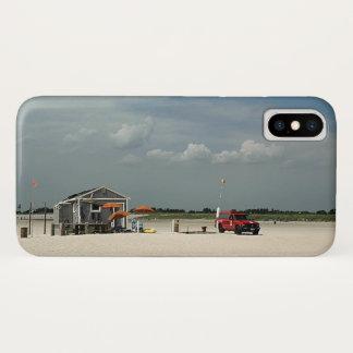 Jones Beach Umbrella Stand iPhone X Case