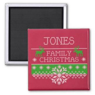 Jones Family Christmas Celebration Magnet