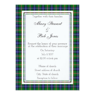 Jones Scottish Wedding Invitation