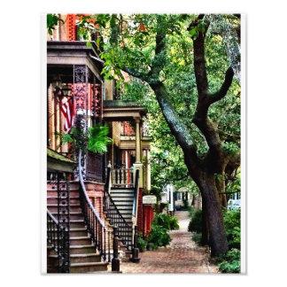 Jones Street, Savannah Art Photo