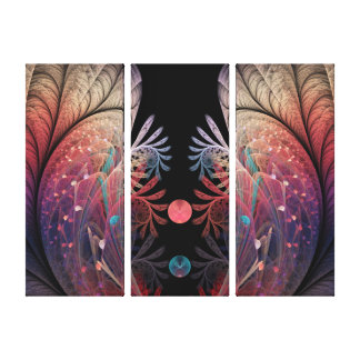 Jonglage Abstract Modern Fantasy Fractal Art Canvas Print