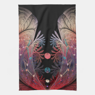 Jonglage Abstract Modern Fantasy Fractal Art Kitchen Towel