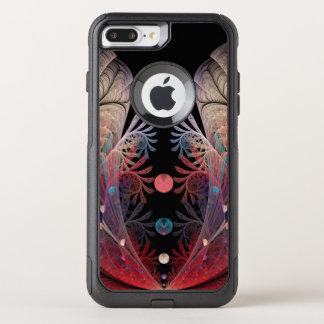 Jonglage Abstract Modern Fantasy Fractal Art OtterBox Commuter iPhone 8 Plus/7 Plus Case
