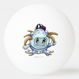 JONI PITTY ALIEN CARTOON BALL OF PING PONG 3 stars