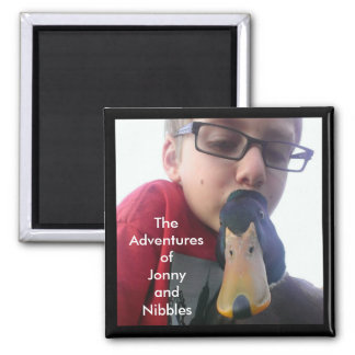 Jonny and Nibbles Magnet