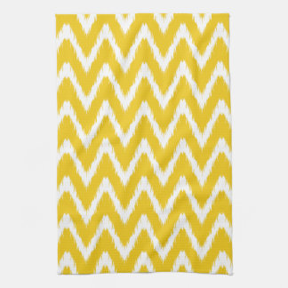 Jonquil Asian Moods Ikat Chevrons Kitchen Towel