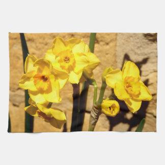 Jonquil Flowers Tea Towel