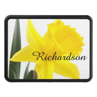 Jonquille jaune simple de narcisse couverture d'attelage de remorque