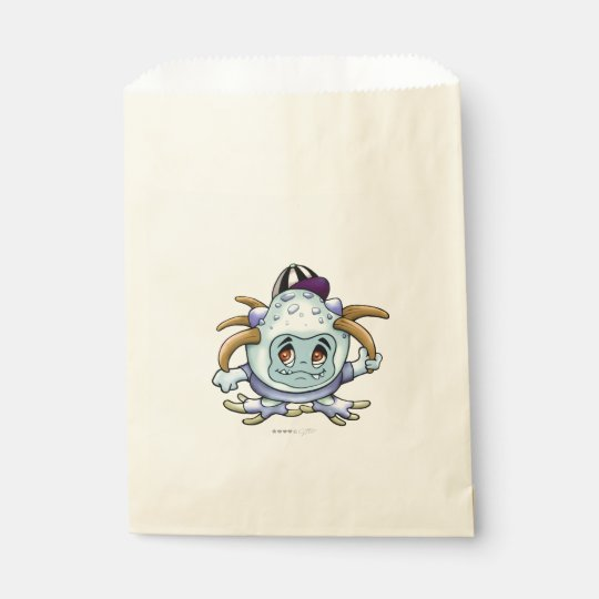 JONY PITTY ALIEN CARTOON  bag Ecru Favour