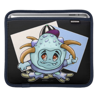 JONY PITTY ALIEN CUTE 2 CARTOON iPad H iPad Sleeve