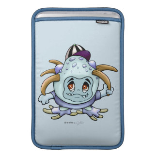 JONY PITTY ALIEN MONSTER CARTOON Macbook Air 11 ON MacBook Sleeve