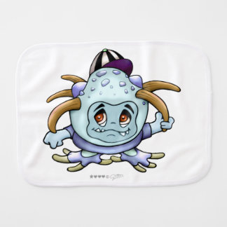 JONY PITTY BURP CLOTH BABY MONSTER