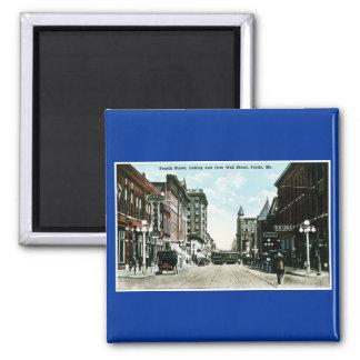 Joplin, Missouri Vintage Post Card Magnet