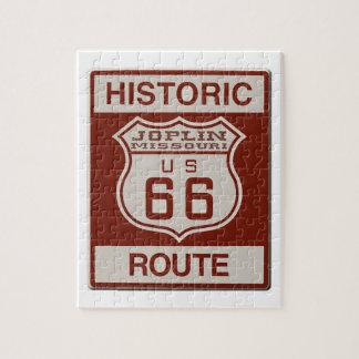 Joplin Route 66 Jigsaw Puzzle