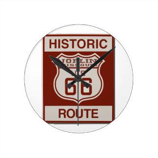 Joplin Route 66 Round Clock