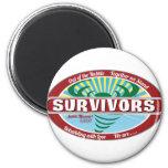 Joplin Survivor Fridge Magnet