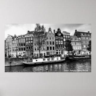 Jordaan District, Amsterdam Poster
