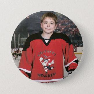 Jordan 06 Hockey 3 Inch Round Button