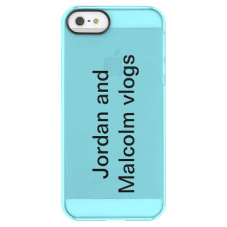 Jordan and Malcolm vlogs iphone case