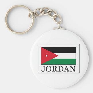 Jordan Basic Round Button Keychain