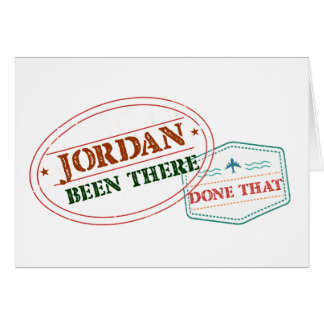 Jordan Been There Done That Card