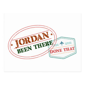 Jordan Been There Done That Postcard