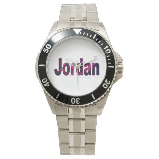Jordan Classic Stainless Steel Watch