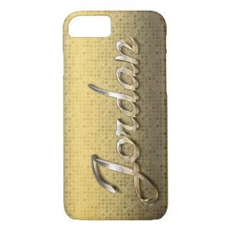 """Jordan"" Custom Monogram iPhone 7 Case"