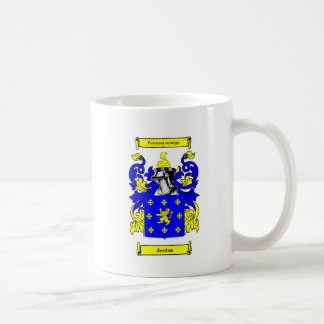 Jordan (English) Coat of Arms Coffee Mug