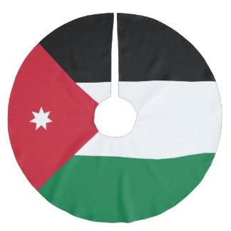 Jordan Flag Brushed Polyester Tree Skirt