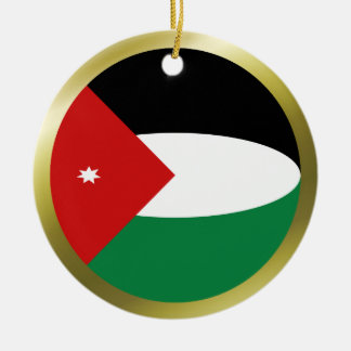 Jordan Flag Ornament