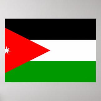 Jordan Flag Poster