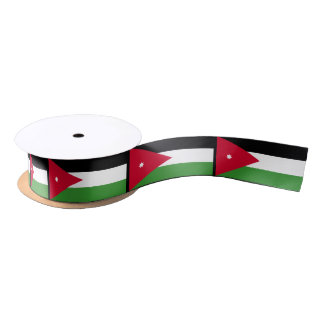 Jordan Flag Satin Ribbon