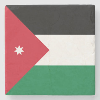 Jordan Flag Stone Beverage Coaster