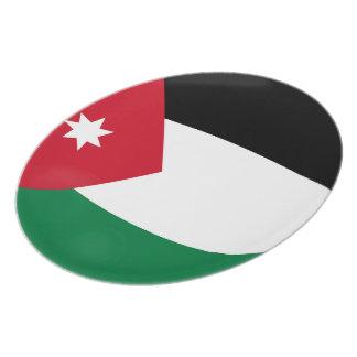 Jordan Jordanian Flag Plate