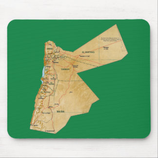 Jordan Map Mousepad