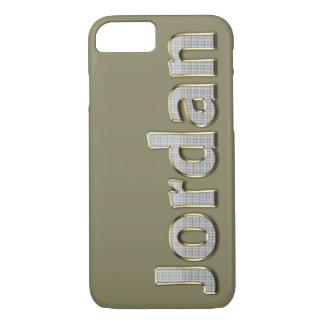 """Jordan"" MONOGRAM iPhone 7(S) CASE"