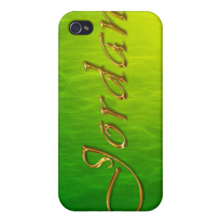 JORDAN Name Branded iPhone Cover iPhone 4 Cover