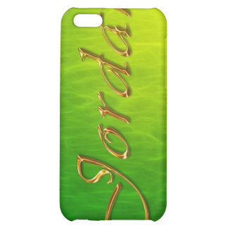 JORDAN Name Branded iPhone Cover iPhone 5C Cases