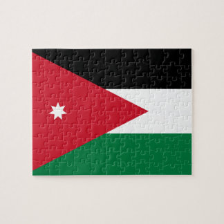 Jordan National World Flag Jigsaw Puzzle