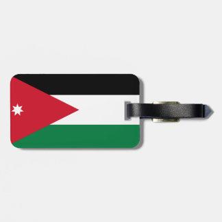 Jordan National World Flag Luggage Tag