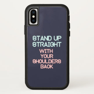 Jordan Peterson: Stand Up Straight... iPhone X Case