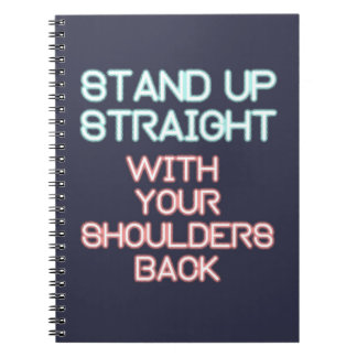 Jordan Peterson: Stand Up Straight... Notebook