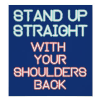 Jordan Peterson: Stand Up Straight... Poster