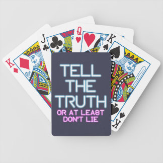 Jordan Peterson: Tell The Truth... Bicycle Playing Cards