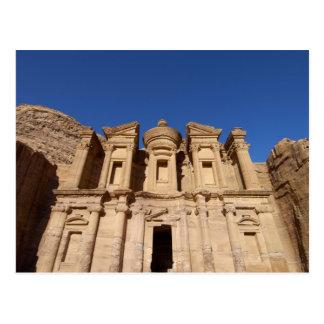 Jordan, Petra, The Monastery, Al Deir. Postcard