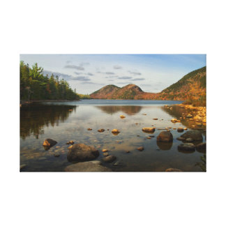 Jordan Pond 1 Canvas Print
